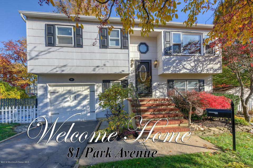 Single Family Home for Sale at 81 Park Avenue Belford, New Jersey 07718 United States