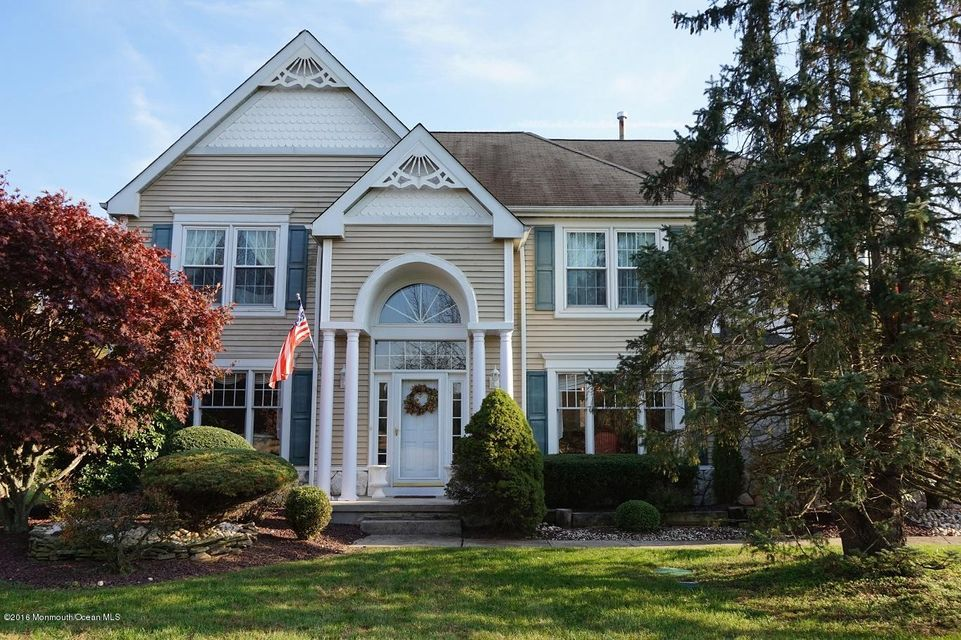 Single Family Home for Sale at 42 Hampton Hollow Drive Perrineville, New Jersey 08535 United States