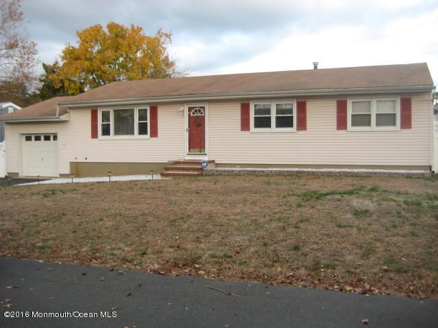 Single Family Home for Sale at 396 Tennessee Drive Brick, New Jersey 08723 United States