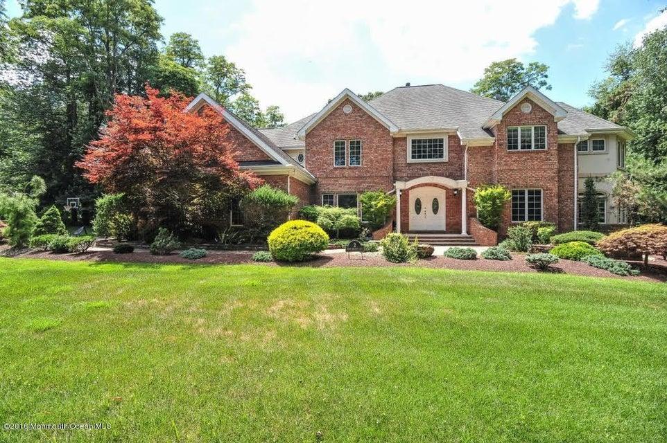 Casa Unifamiliar por un Venta en 2 Mink Hollow Lane Millstone, Nueva Jersey 08510 Estados Unidos
