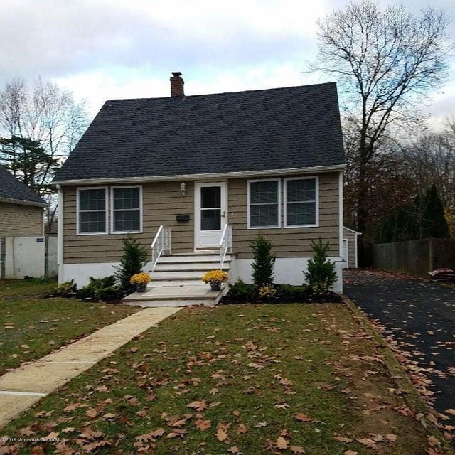 Maison unifamiliale pour l Vente à 548 Garden Place Keyport, New Jersey 07735 États-Unis