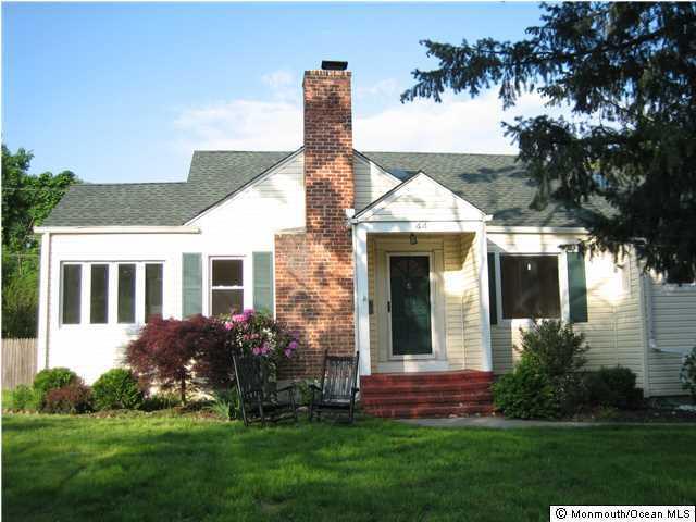 Casa Unifamiliar por un Venta en 44 Sunnycrest Drive Little Silver, Nueva Jersey 07739 Estados Unidos