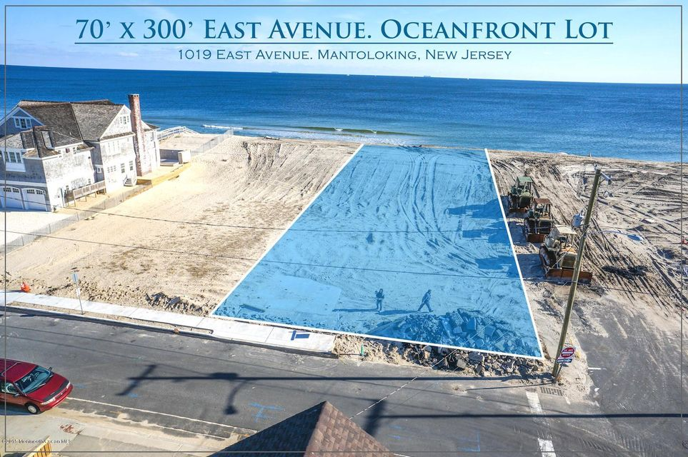 Land for Sale at 1019 East Avenue Mantoloking, 08738 United States