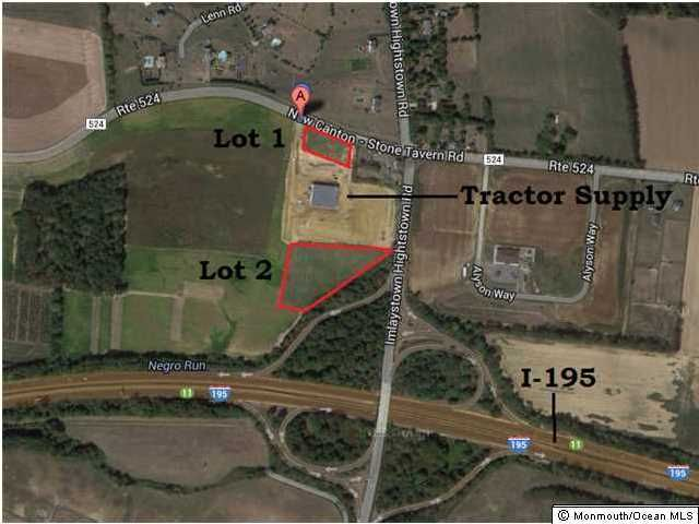 Land for Sale at Route 524 Upper Freehold, 08501 United States