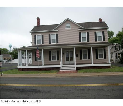 Single Family Home for Sale at 12 Main Street Englishtown, 07726 United States