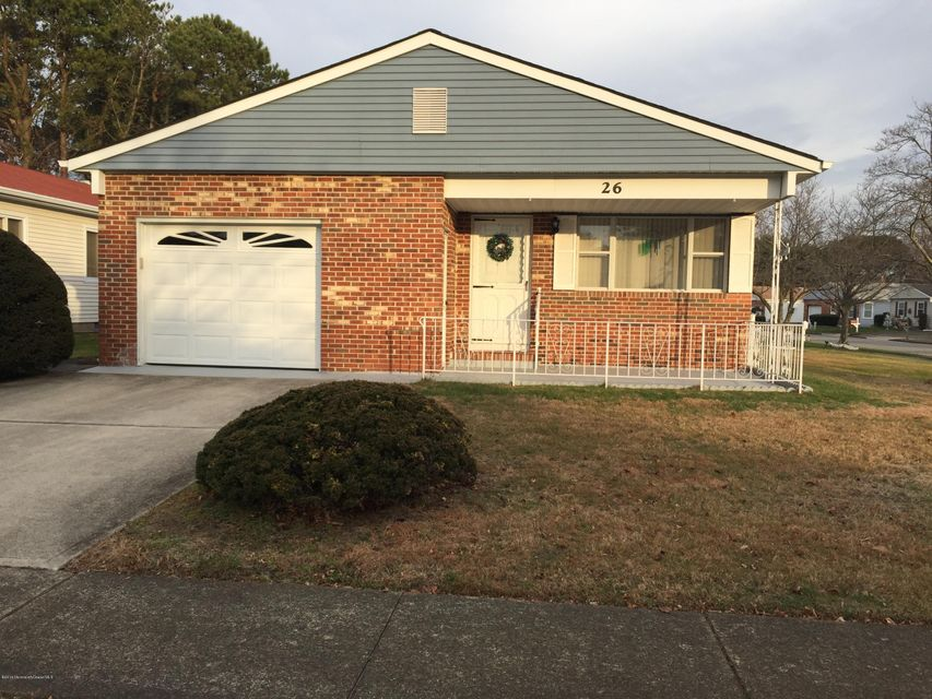 Single Family Home for Sale at 26 Claremont Street Toms River, New Jersey 08757 United States