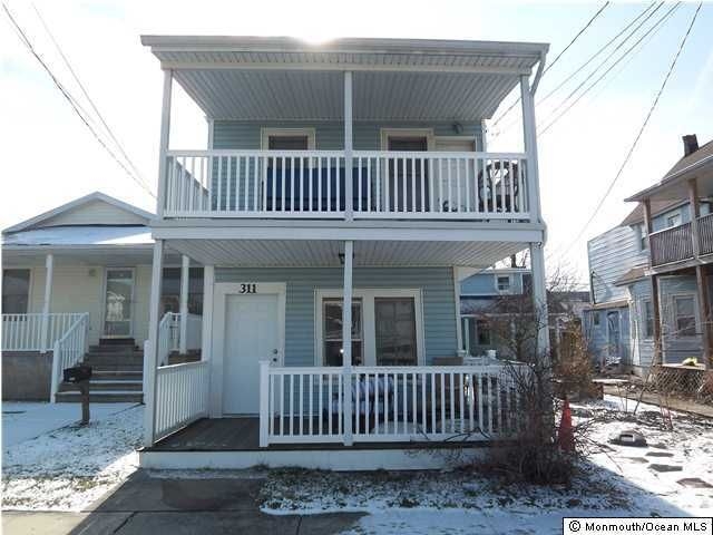 Multi-Family Home for Rent at 311 Park Place Avenue Bradley Beach, 07720 United States