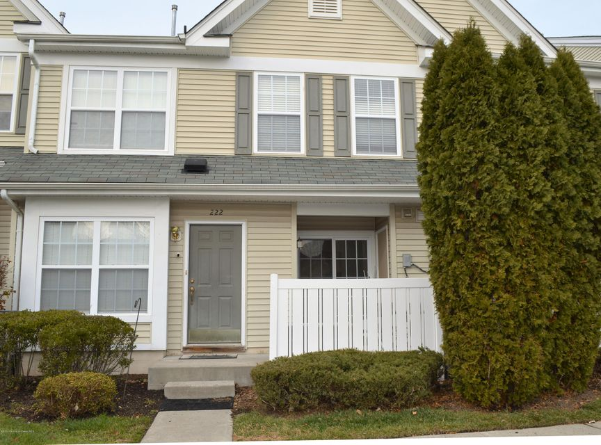 Condominium for Sale at 222 Brookfield Drive Jackson, New Jersey 08527 United States