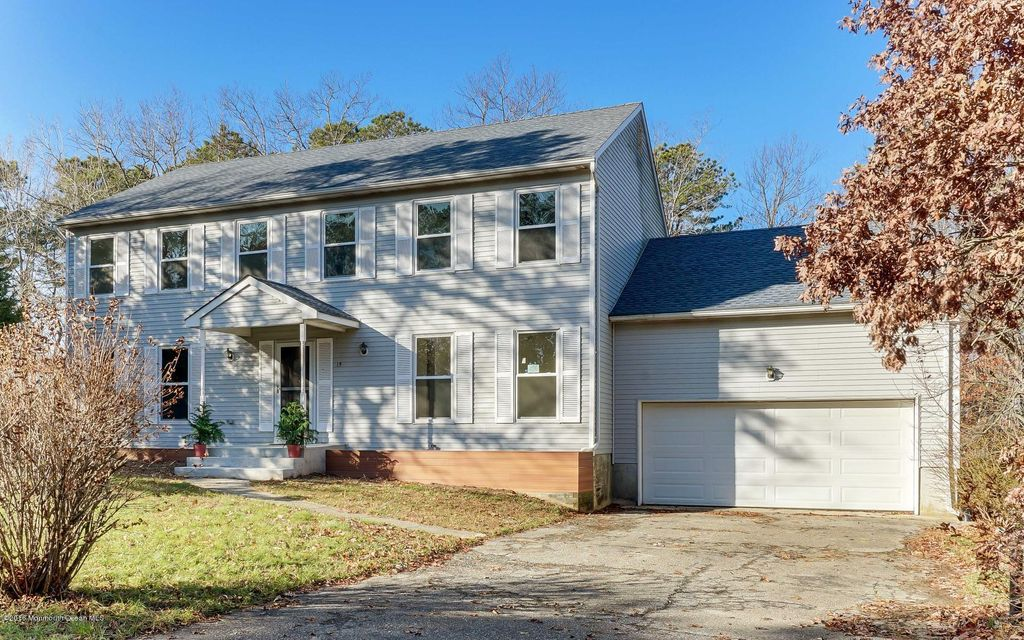 Single Family Home for Sale at 15 Morgan Drive Barnegat, New Jersey 08005 United States