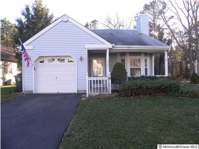 Single Family Home for Rent at 2309 Mount Hood Lane Toms River, New Jersey 08753 United States