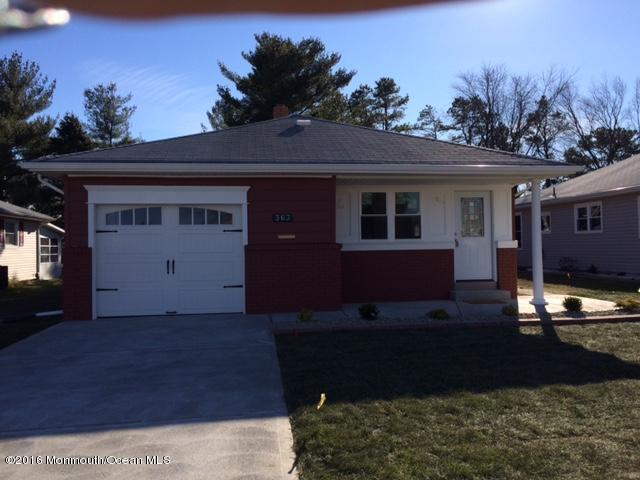 独户住宅 为 销售 在 363 St Thomas Drive 汤姆斯河, 新泽西州 08757 美国