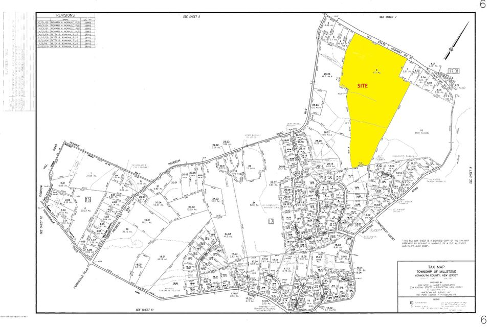 Land for Sale at Route 33 Millstone, 08535 United States