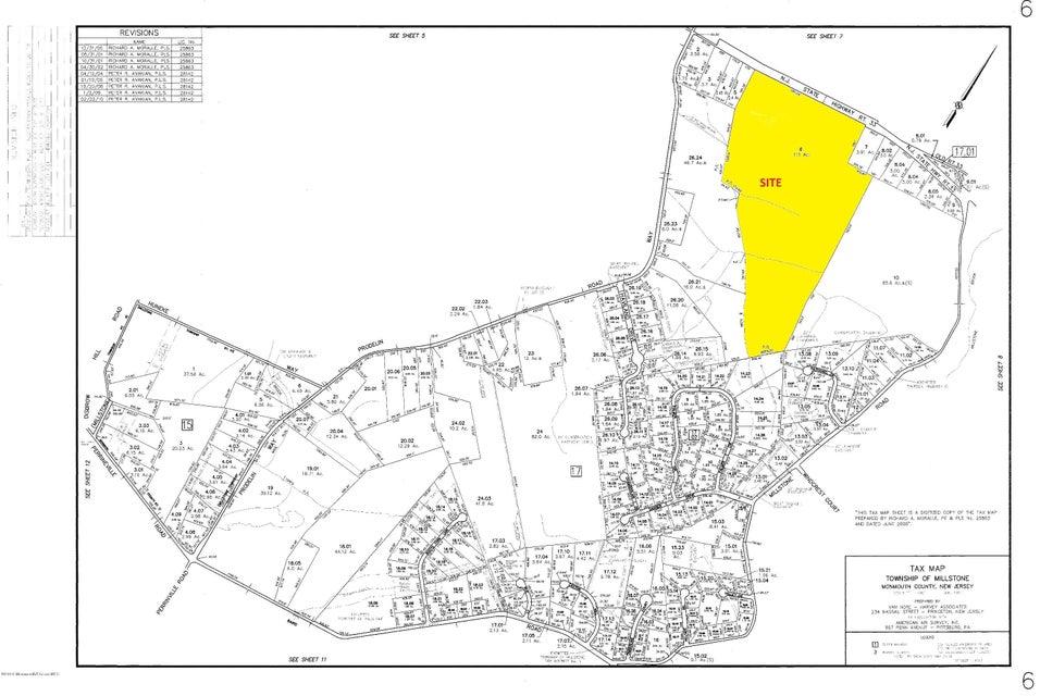 土地 为 销售 在 Route 33 Millstone, 08535 美国