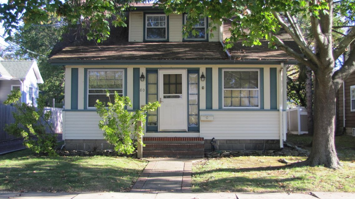 Single Family Home for Sale at 80-80 1/2 Fletcher Avenue Manasquan, New Jersey 08736 United States
