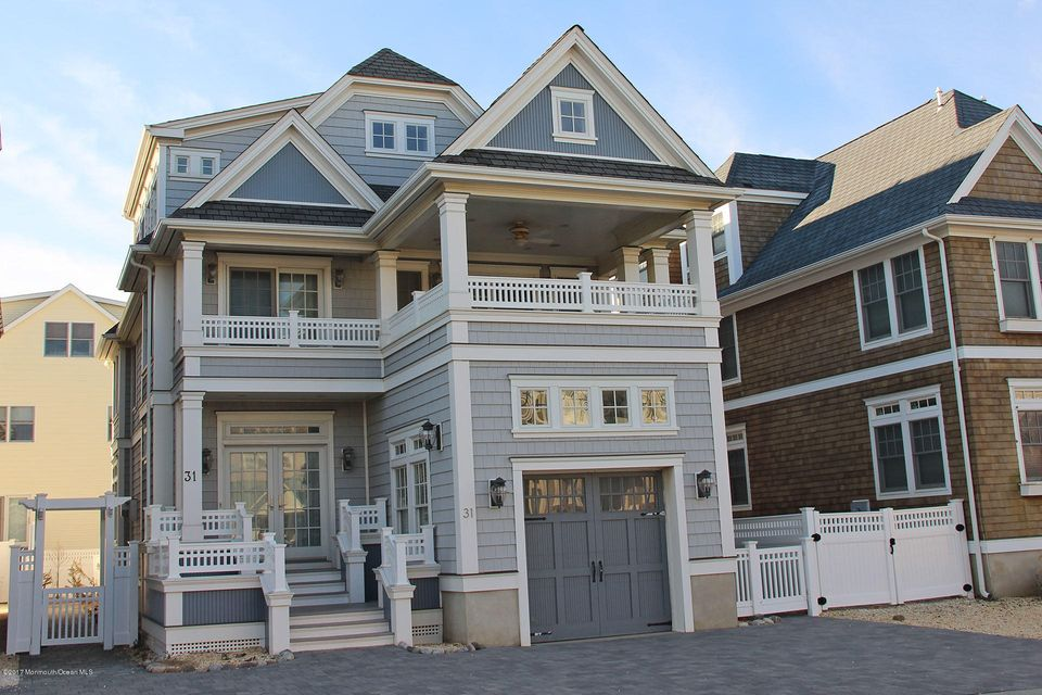 Maison unifamiliale pour l Vente à 31 5th Avenue Normandy Beach, New Jersey 08739 États-Unis