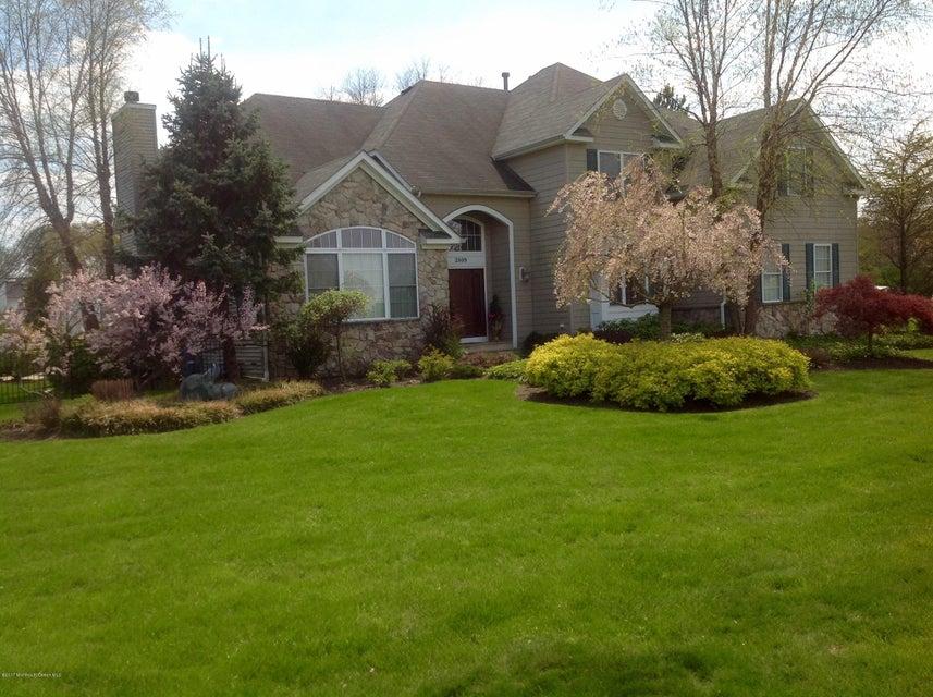 Maison unifamiliale pour l Vente à 2809 Concord Drive Wall, New Jersey 07719 États-Unis