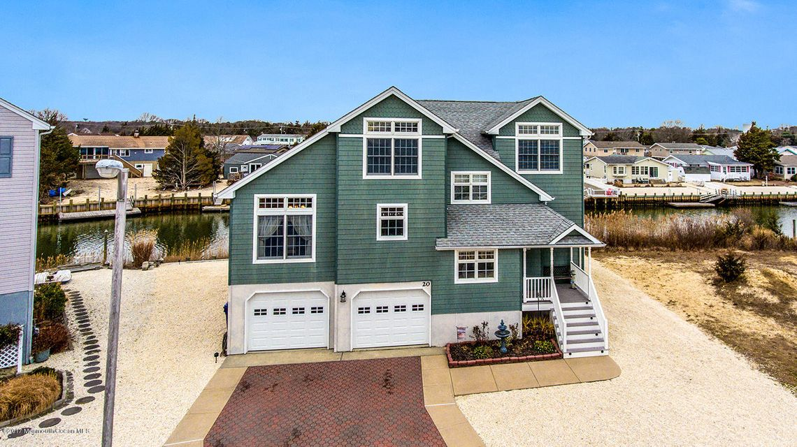 Single Family Home for Sale at 20 Sea Isle Drive Little Egg Harbor, 08087 United States