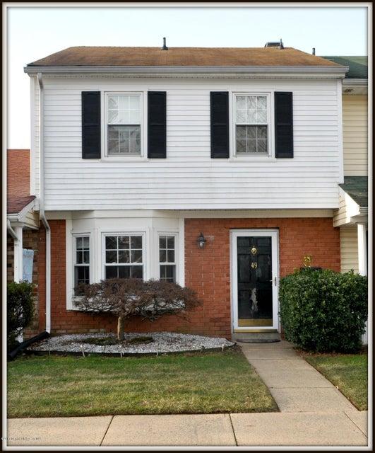 共管式独立产权公寓 为 销售 在 49 Kingsley Way Freehold, 新泽西州 07728 美国
