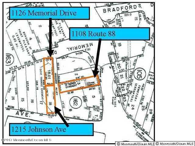 土地 為 出售 在 1215 Johnson Avenue 1215 Johnson Avenue Point Pleasant, 新澤西州 08742 美國