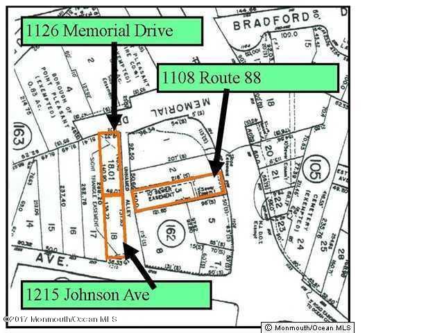 土地 為 出售 在 1126 Memorial Drive 1126 Memorial Drive Point Pleasant, 新澤西州 08742 美國