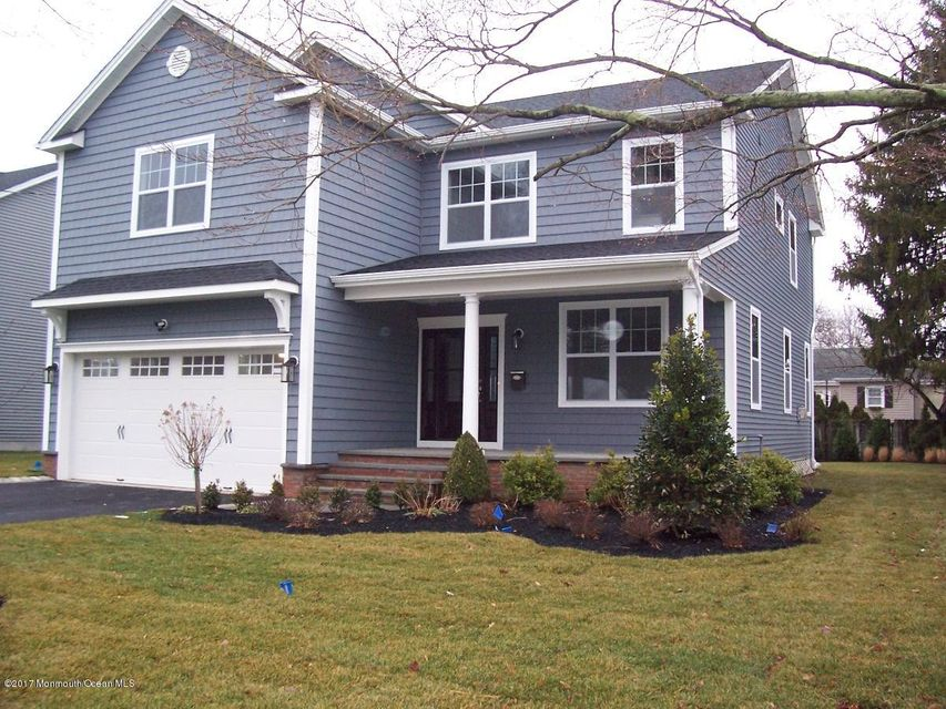 Single Family Home for Sale at 41 Linden Avenue West Long Branch, New Jersey 07764 United States