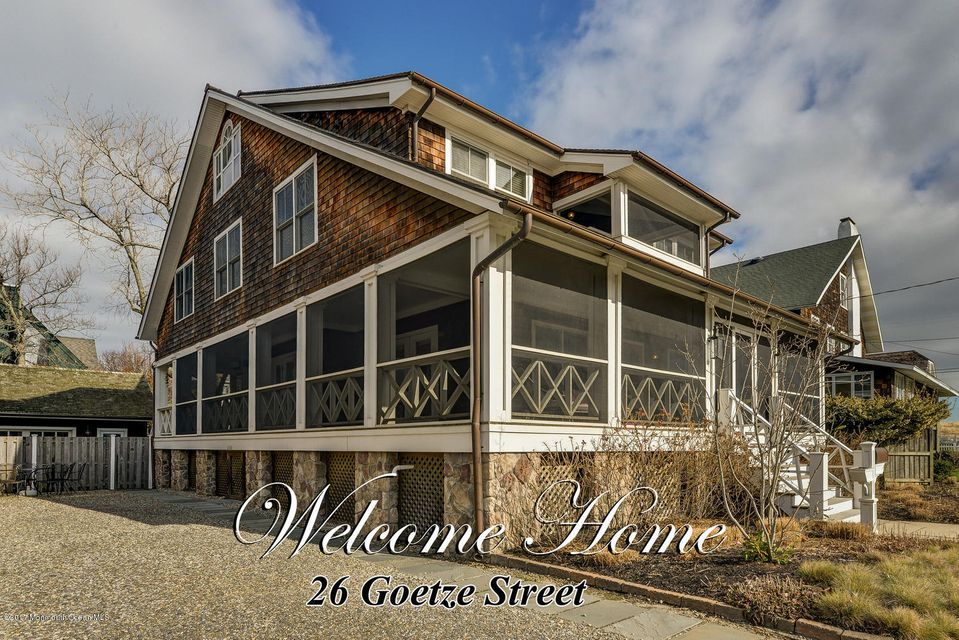 Single Family Home for Sale at 26 Goetze Street Bay Head, 08742 United States