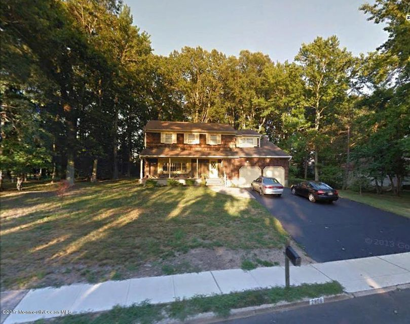 Single Family Home for Sale at 2806 Logan Road Oakhurst, New Jersey 07755 United States