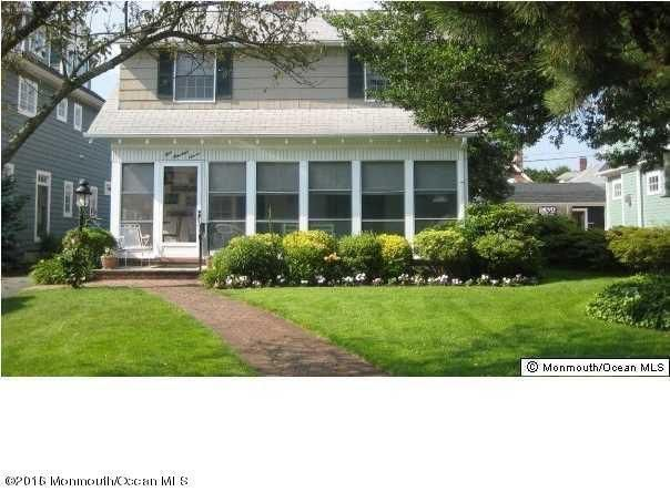 Single Family Home for Rent at 107 New York Boulevard Sea Girt, 08750 United States