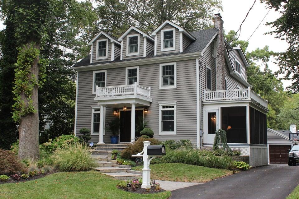 Maison unifamiliale pour l Vente à 515 Woodmere Avenue Interlaken, New Jersey 07712 États-Unis