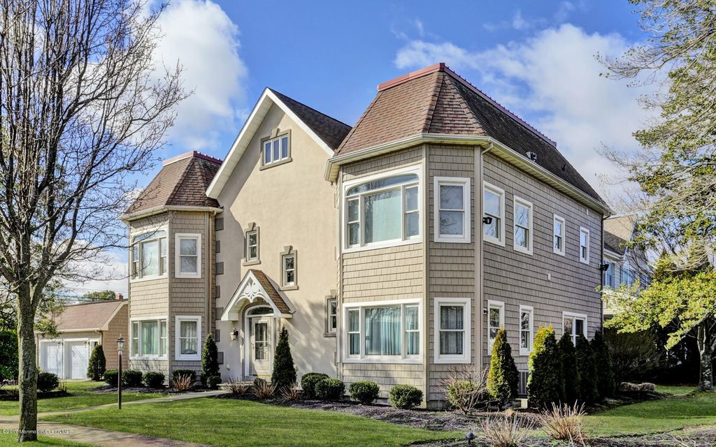Single Family Home for Sale at 200 Stockton Boulevard Sea Girt, New Jersey 08750 United States