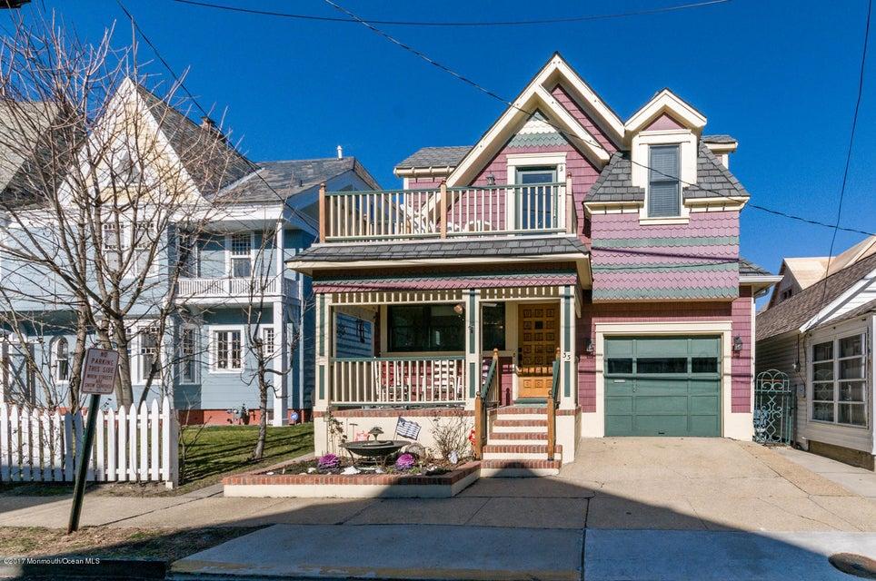 独户住宅 为 销售 在 33 Heck Avenue Ocean Grove, 07756 美国