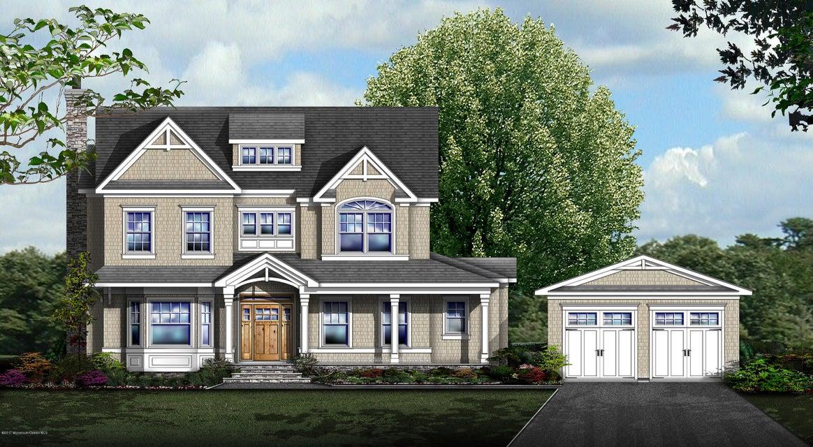 Maison unifamiliale pour l Vente à 56 Laurel Drive Fair Haven, New Jersey 07704 États-Unis