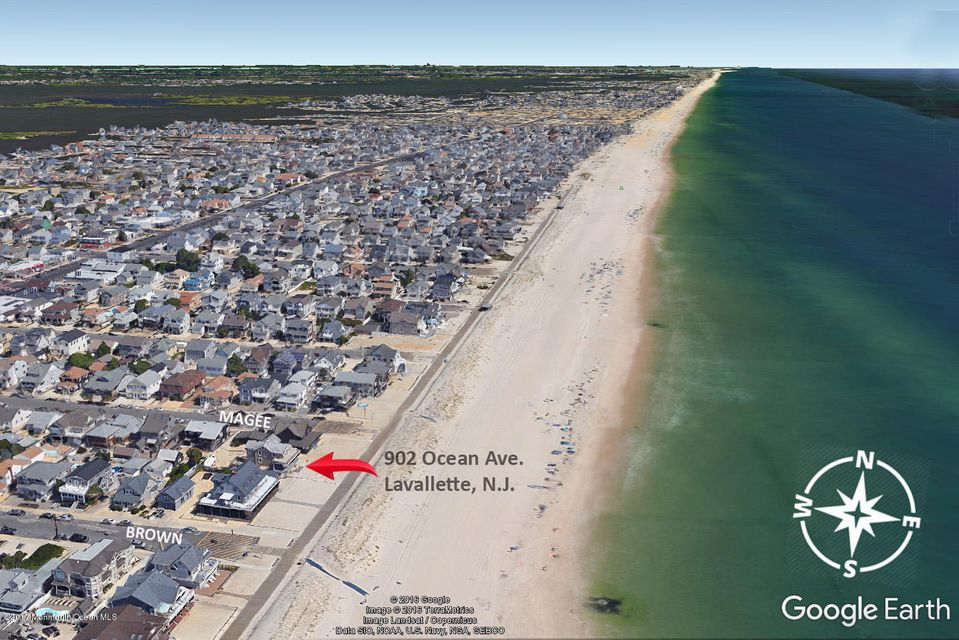 Land for Sale at 902 Ocean Avenue Lavallette, 08735 United States