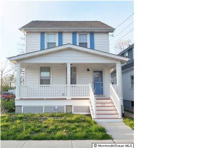 Single Family Home for Rent at 324 14th Avenue Belmar, 07719 United States