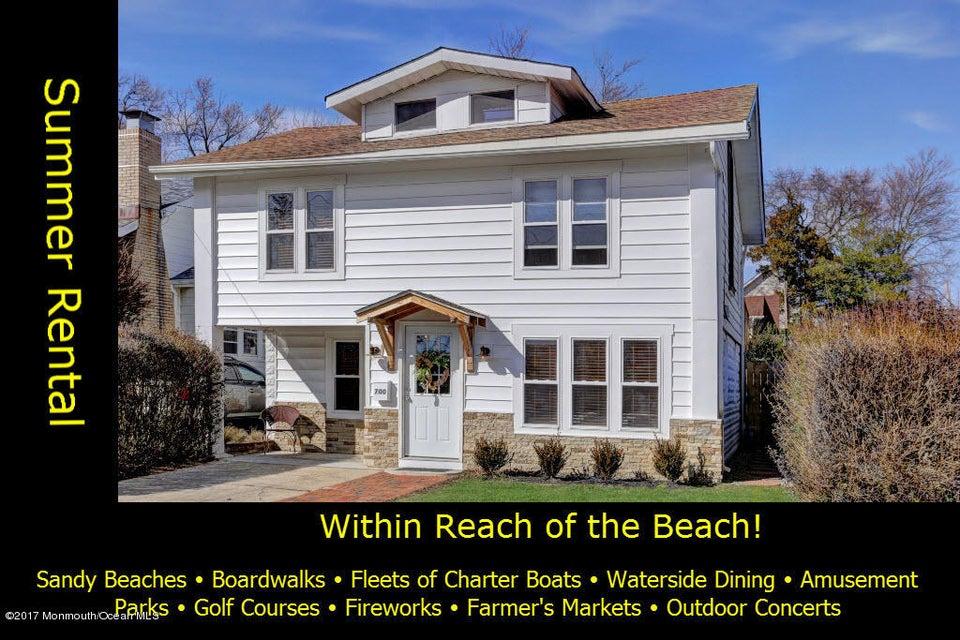 Casa Unifamiliar por un Alquiler en 700 22nd Avenue Lake Como, Nueva Jersey 07719 Estados Unidos