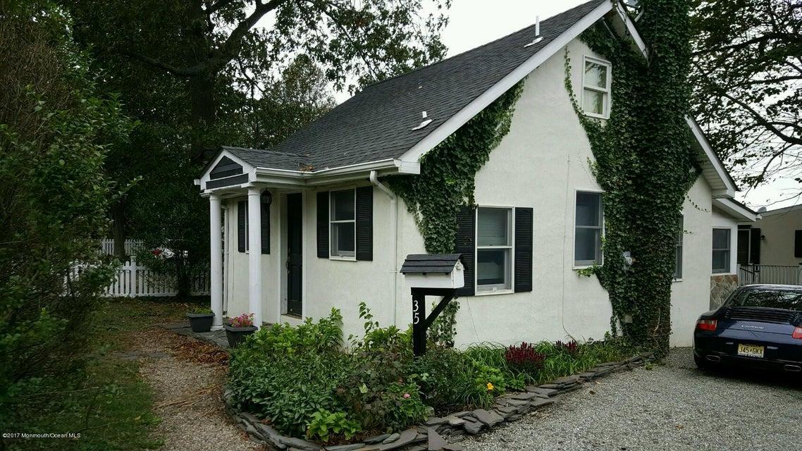 Single Family Home for Rent at 35 Burlington Avenue Leonardo, New Jersey 07737 United States