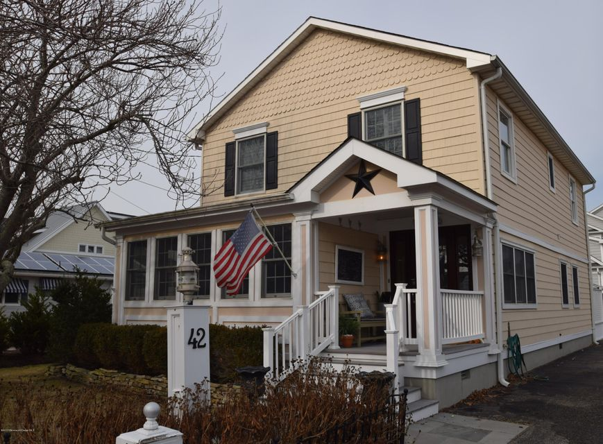 Single Family Home for Rent at 42 Ocean Avenue Manasquan, New Jersey 08736 United States