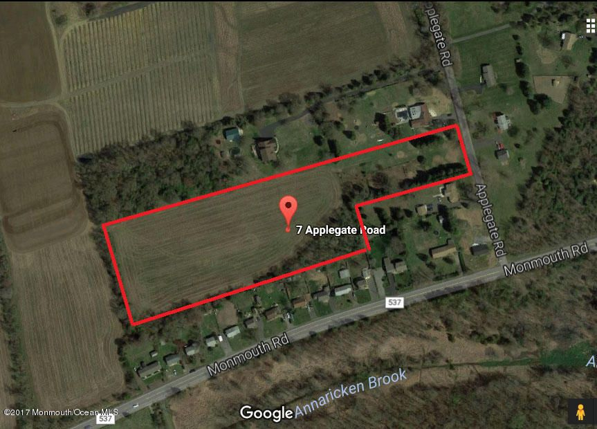 Land for Sale at 7 Applegate Road Jobstown, New Jersey 08041 United States