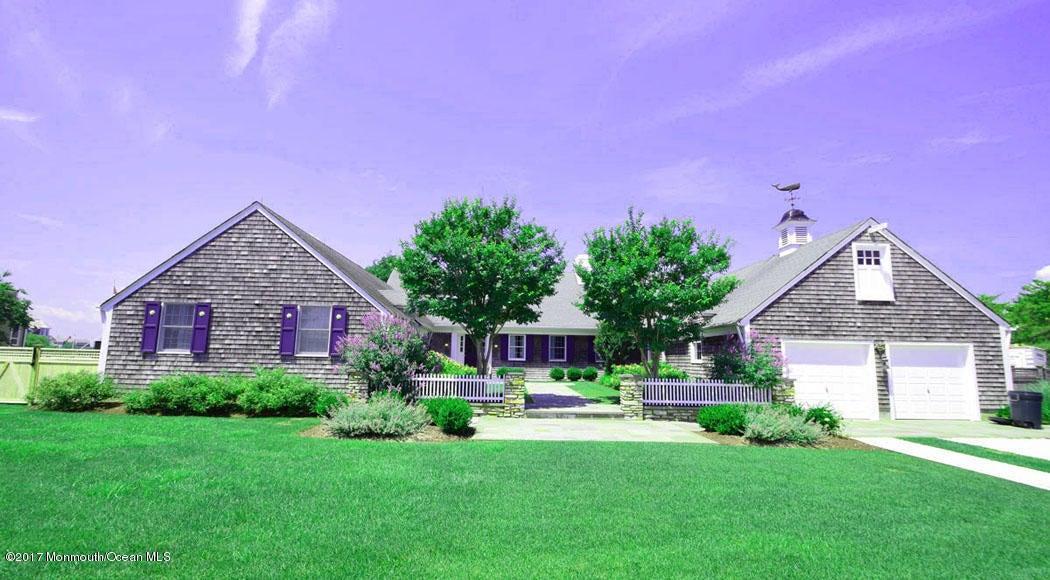 단독 가정 주택 용 매매 에 854 Clayton Avenue Bay Head, 뉴저지 08742 미국