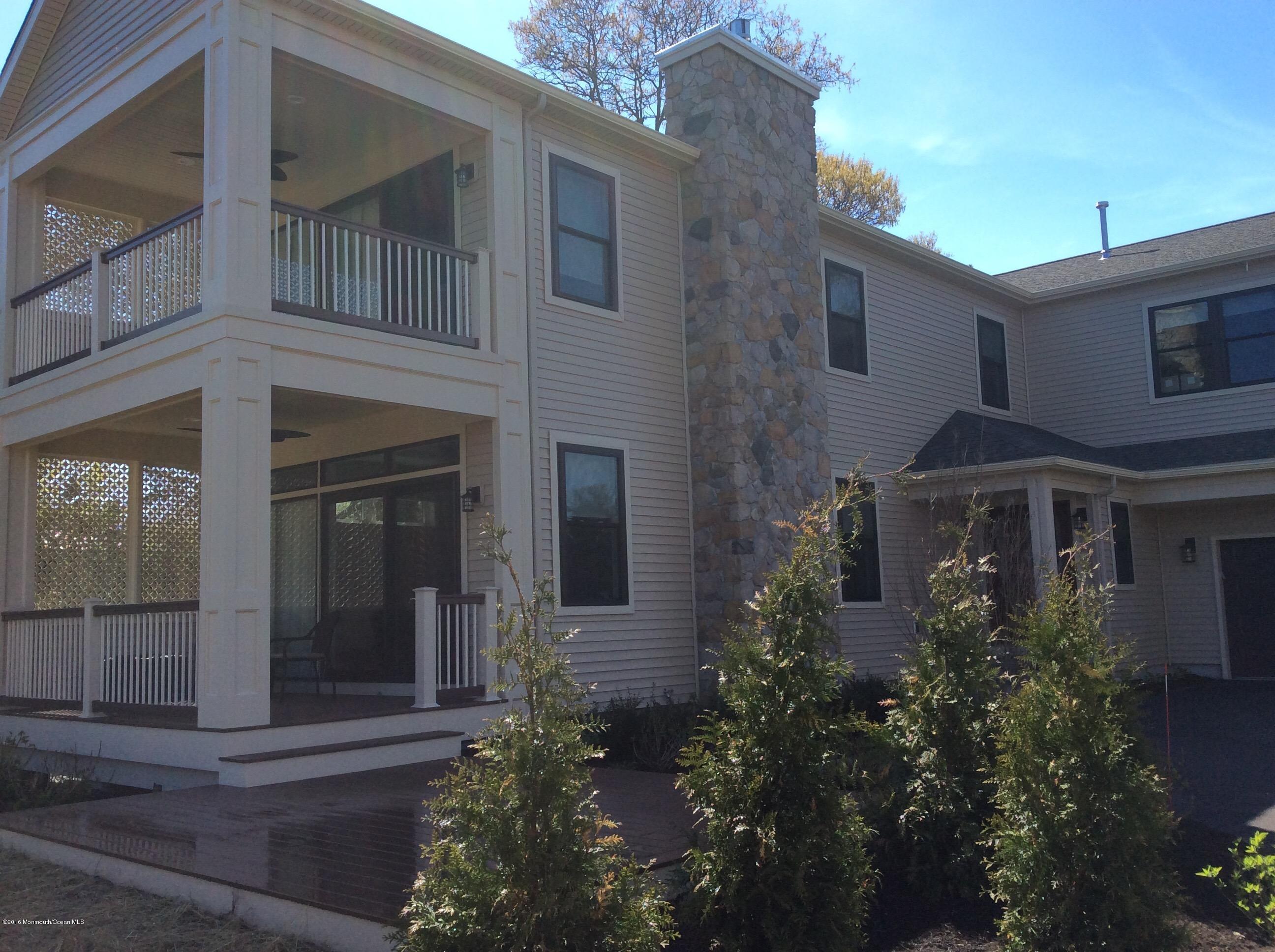 Casa Unifamiliar por un Alquiler en 508 North Boulevard Lake Como, Nueva Jersey 07719 Estados Unidos