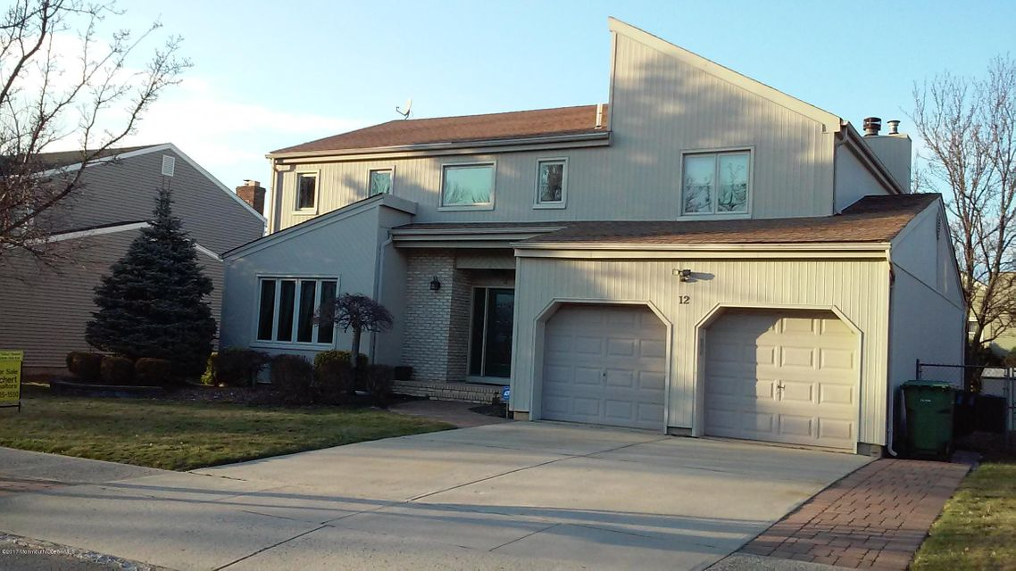 Single Family Home for Sale at 12 Scarlet Drive Parlin, New Jersey 08859 United States