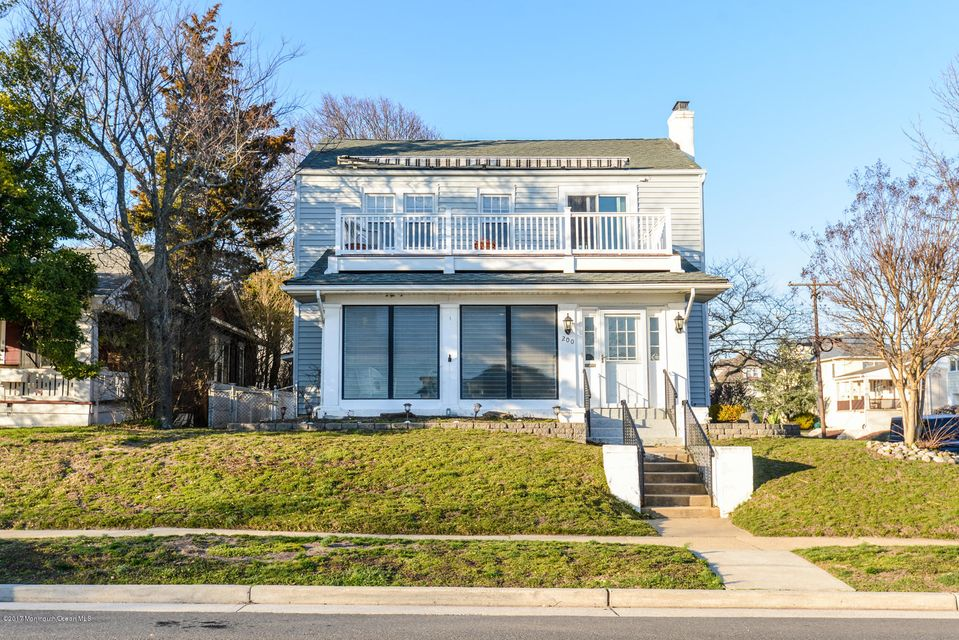 Single Family Home for Sale at 200 4th Avenue Bradley Beach, New Jersey 07720 United States