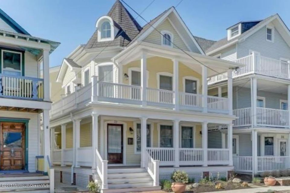 Single Family Home for Rent at 32 Heck Avenue Ocean Grove, 07756 United States