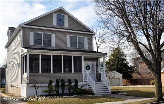 Casa Unifamiliar por un Alquiler en 43 Ocean Avenue Manasquan, Nueva Jersey 08736 Estados Unidos