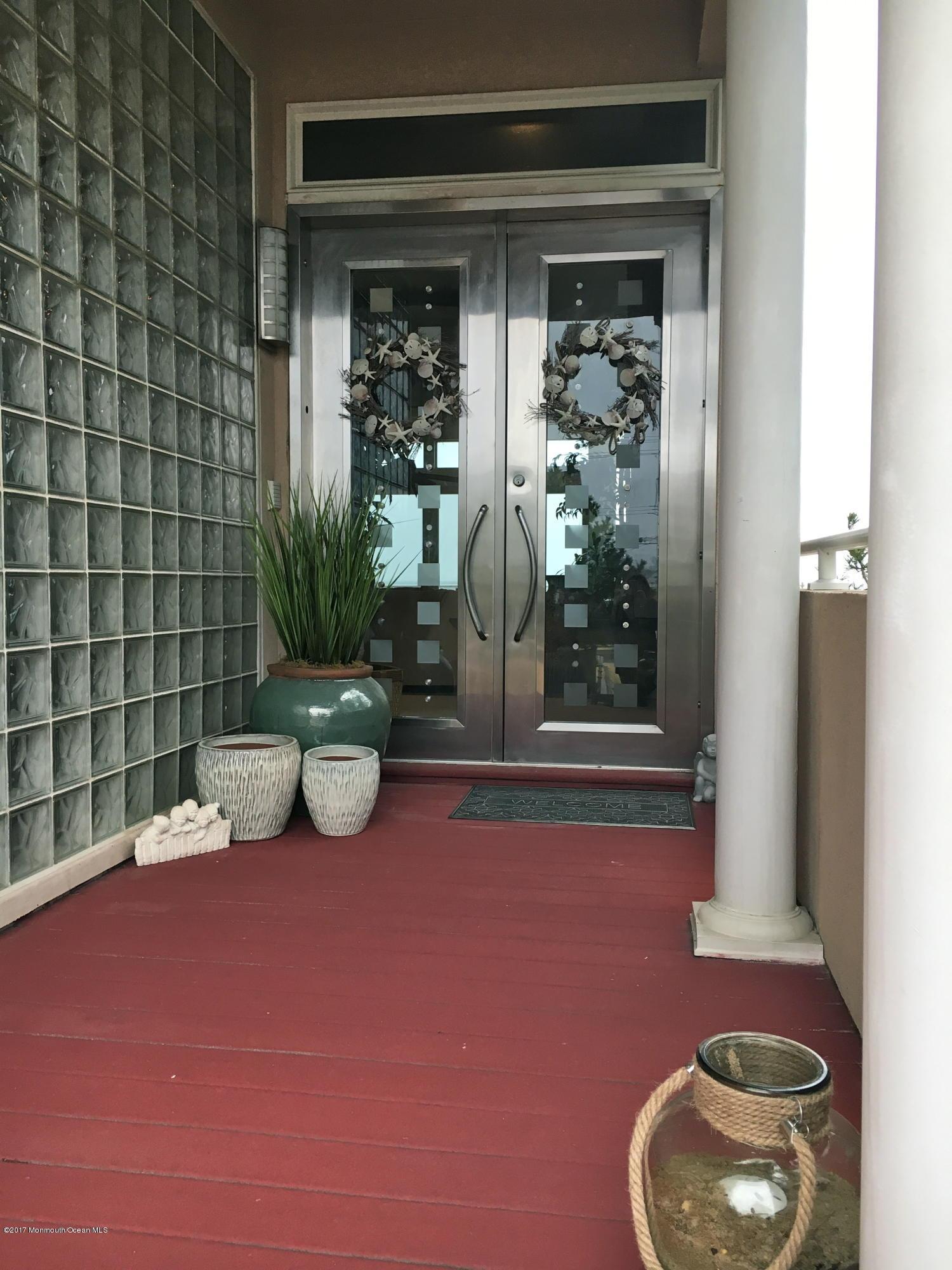 Custom Stainless Steel Front Door