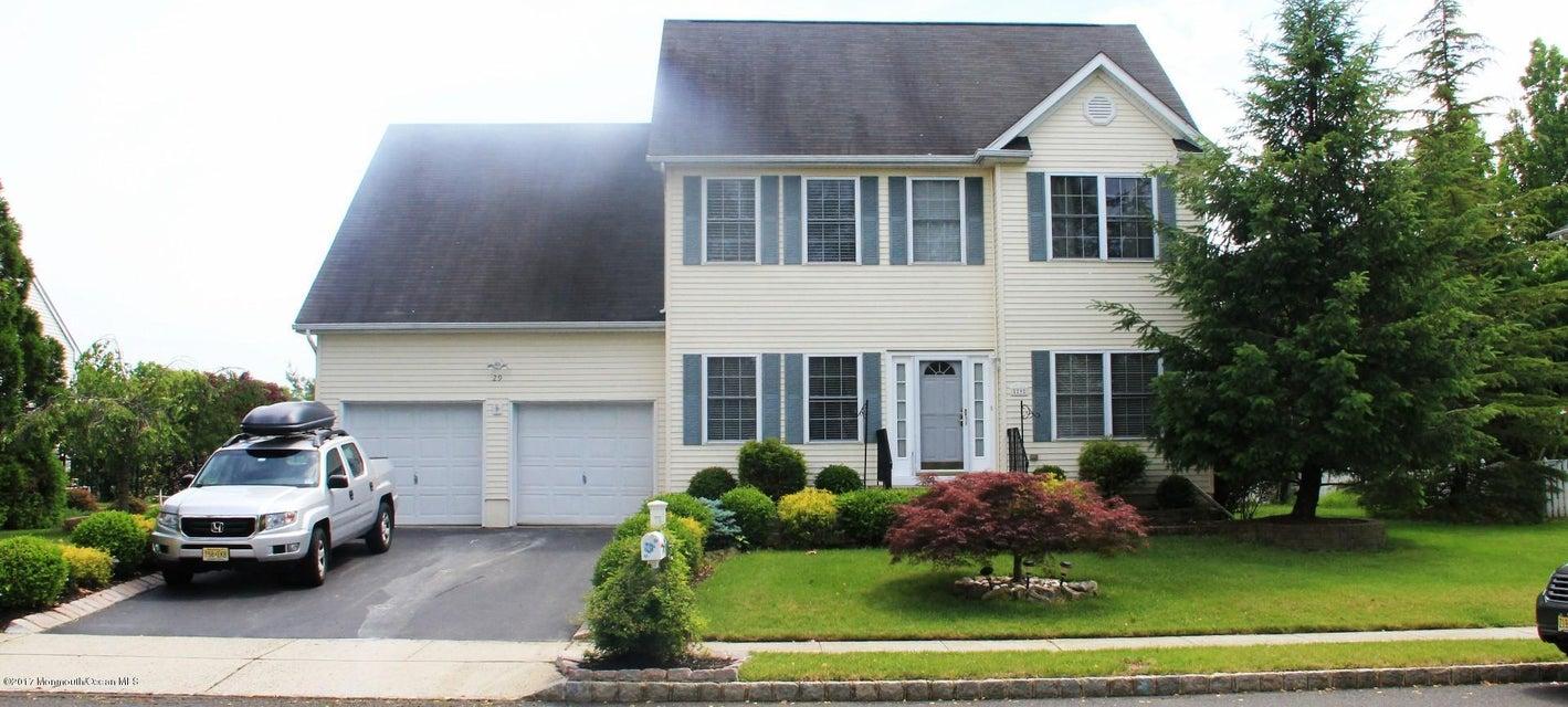 独户住宅 为 销售 在 29 Gregory Street 黑兹利特, 07730 美国