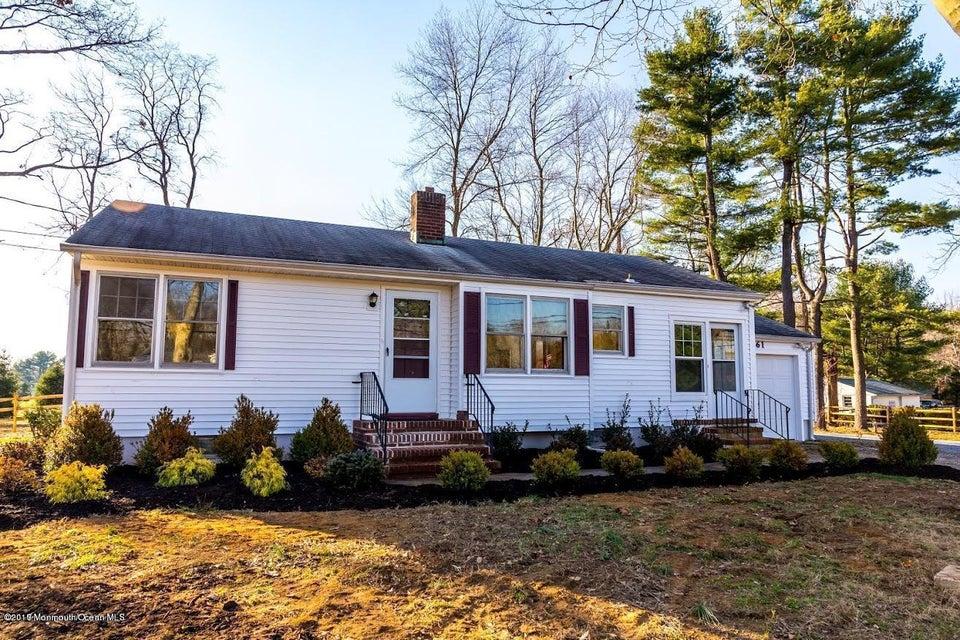 独户住宅 为 出租 在 61 Creamery Road Colts Neck, 新泽西州 07722 美国