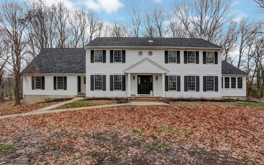 Maison unifamiliale pour l Vente à 1852 Baileys Corner Road Wall, New Jersey 07719 États-Unis
