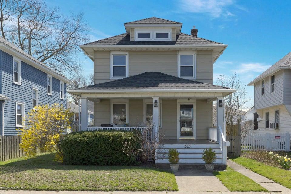 独户住宅 为 销售 在 515 Washington Avenue Avon By The Sea, 新泽西州 07717 美国