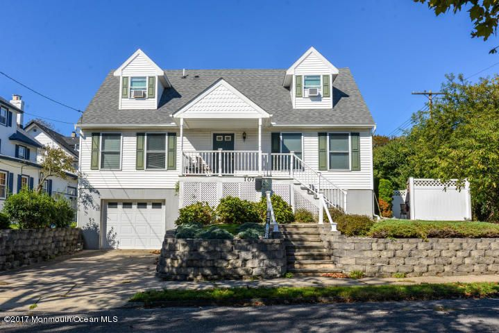 Single Family Home for Sale at 107 Madison Avenue Bradley Beach, New Jersey 07720 United States